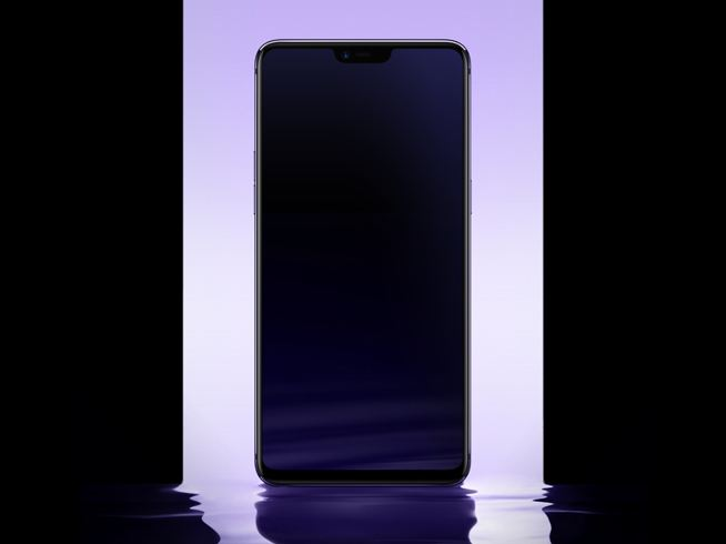 OPPO R15 double-sided glass appearance