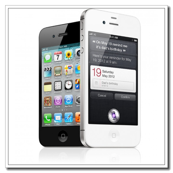 Apple iPhone 4s - FACTORY GSM UNLOCKED Smartphone in White or Black