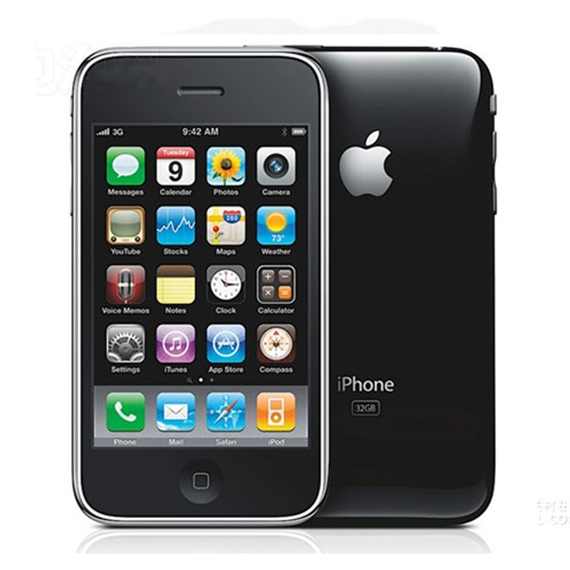 Unlocked Original iphone 3GS 8GB 16GB 32GB IOS 3 Mobile Phone Original cell phone