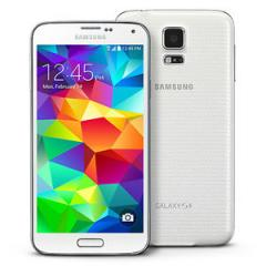 Samsung Galaxy S5 SM-G900T - 16GB - Shimmery White Unlocked G900A G900H Smart Phone