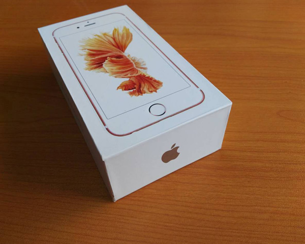 UK,US,AU,EUR Version iPhone 6S Box ,Paper Packing Box With Accessories for iPhone6s
