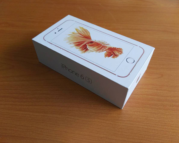 Apple Iphone 6s Box Include Charger Box Manual Book