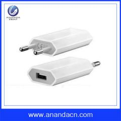 Europe mobile phone USB charger for iphone 4/4S/5/5S/6/6S charger usb adapter