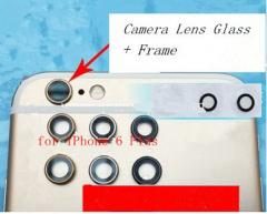 Camera Glass Lens with Frame for iPhone 6 information