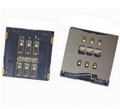 Sim Card Socket Connector Parts for iPhone 5S