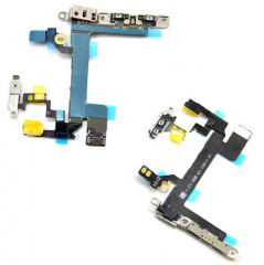 Power Volume Mute Flex for iPhone 5S Parts