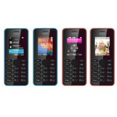Brand Original Nokia 108 - Black Dual Sim Mobile Phone (Unlocked)
