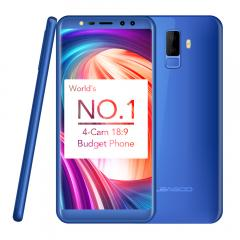 Blue leagoo m9 5.5 inch android 7.0