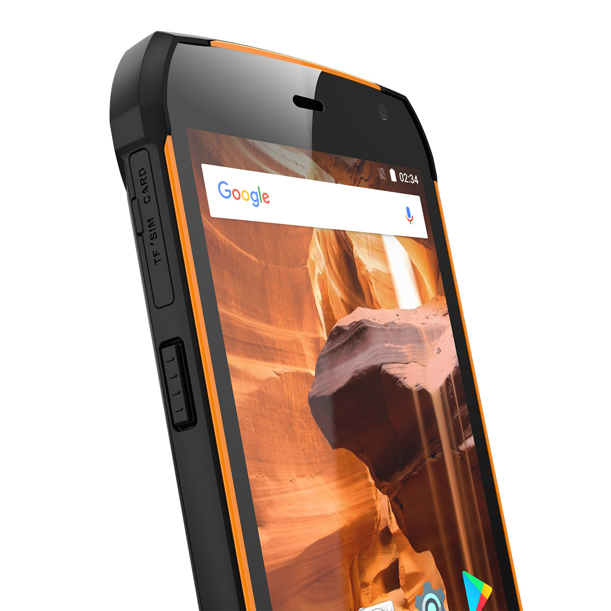 Uhans K5000 4G smartphone Orange