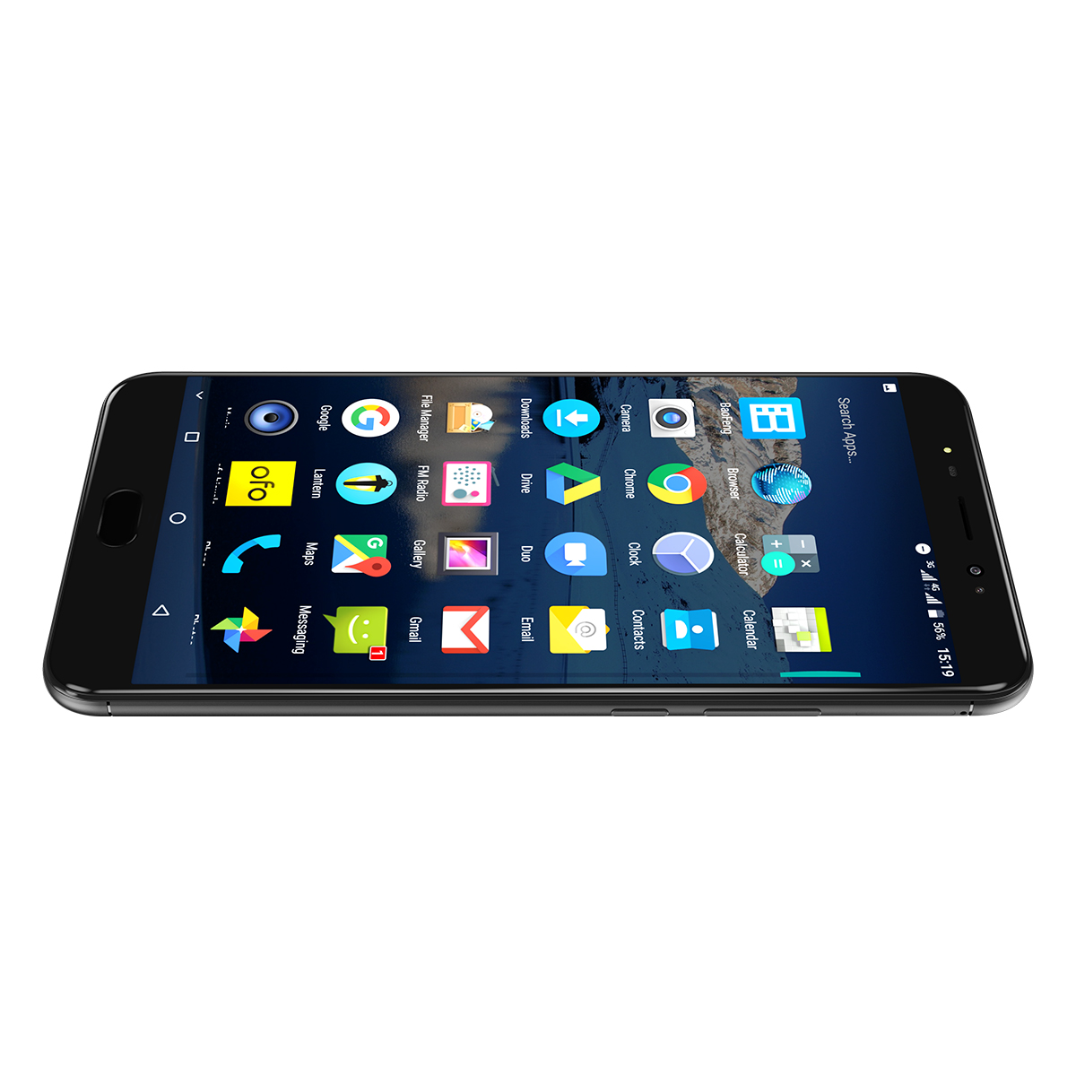 6.44 inch Uhans Max 2 smartphone black