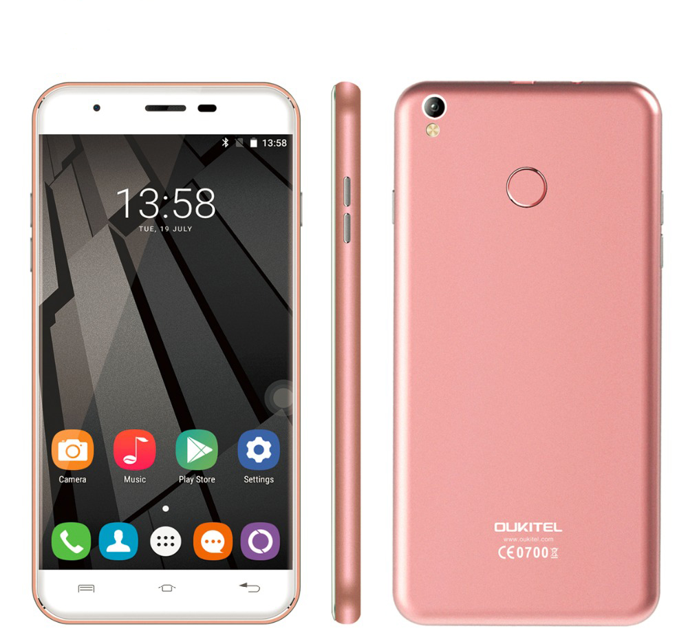 Oukitel U7 Plus 4G Phablet Rose Gold
