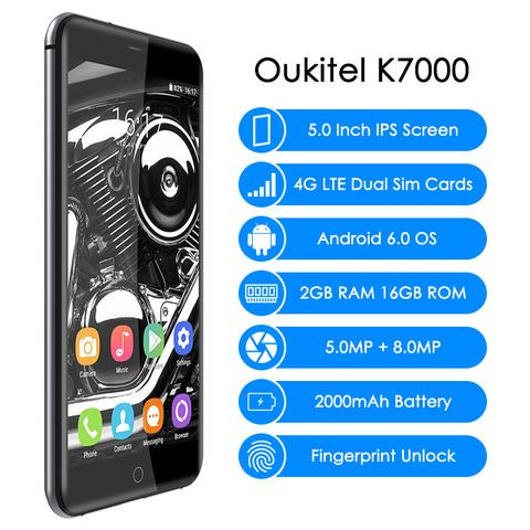 Oukitel K7000 4G mobile phone Grey