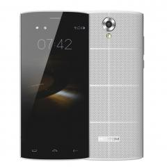 White Homtom HT7 3G Mobile Phone